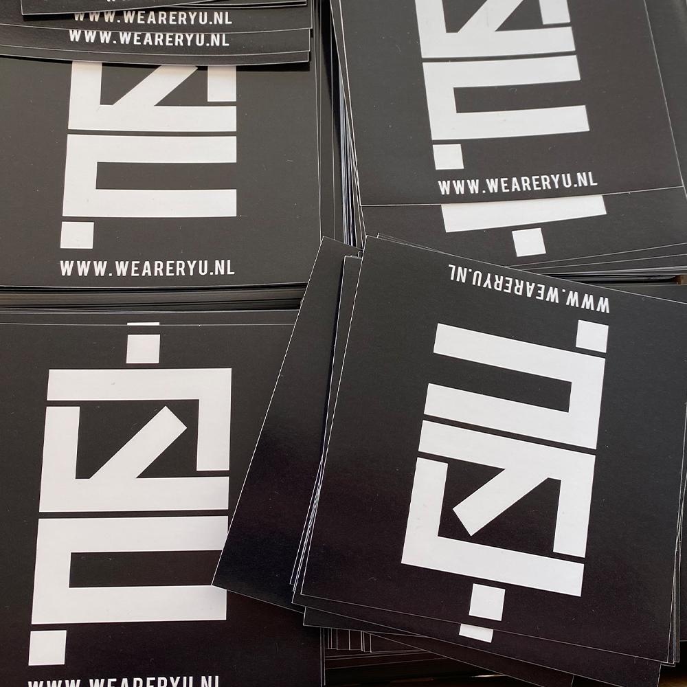 RYU stickers